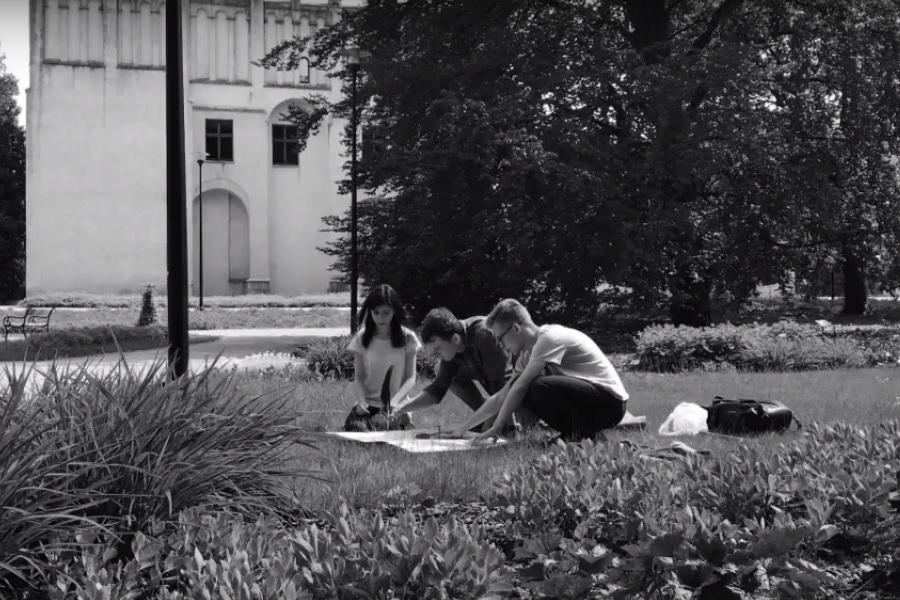 Uczniowie I LO o Żołnierzach Wyklętych [VIDEO]