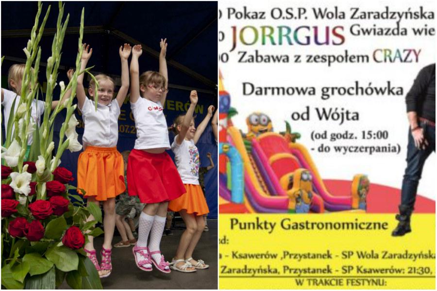 W weekend festyn w Ksawerowie