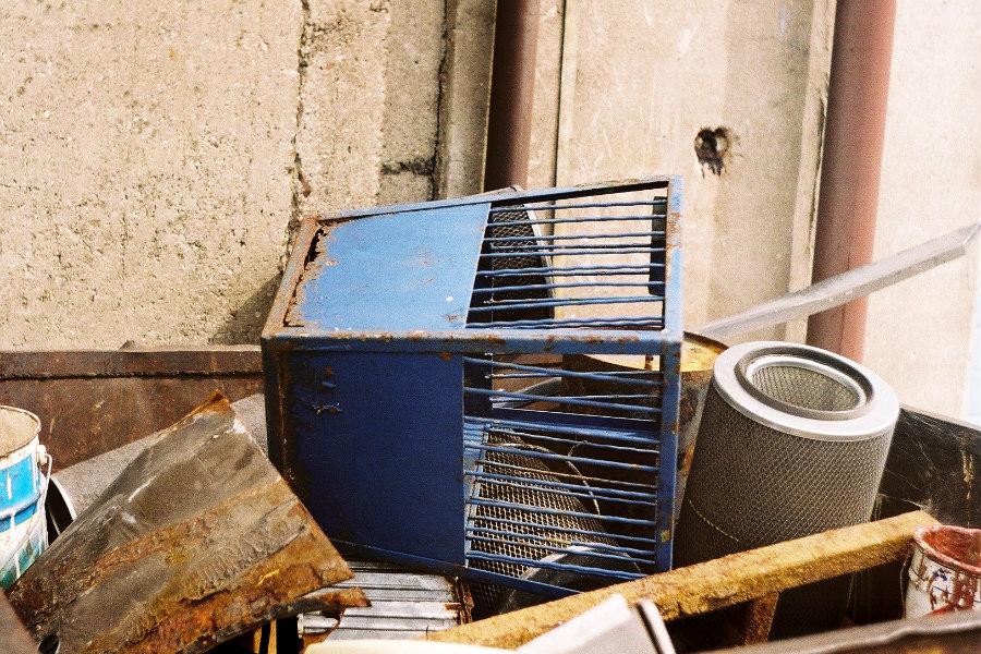 Techniczne ciekawostki Pabianic: Kosze na śmieci