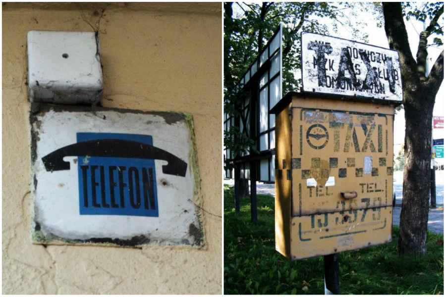 Techniczne ciekawostki Pabianic: Telefony