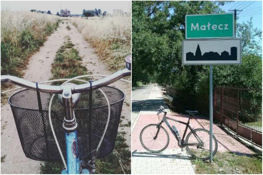 Jedziemy do Małecza – na rowerach
