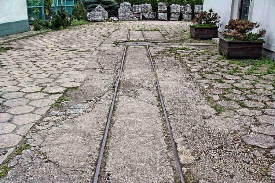 Techniczne ciekawostki Pabianic: Wąskotorówka w centrum