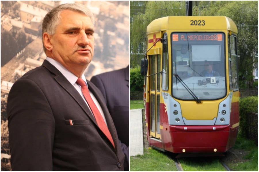 Wójt Ksawerowa zablokuje remont trakcji tramwajowej?