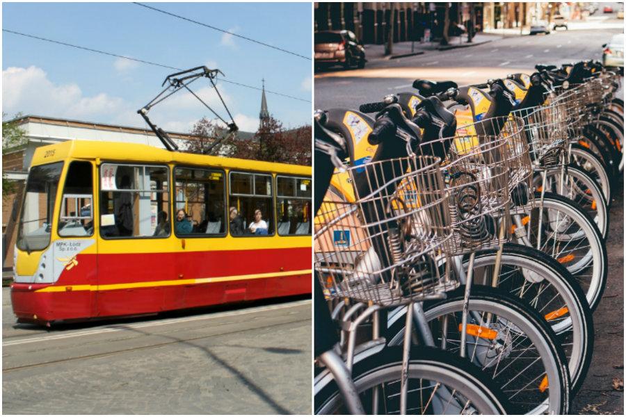 Sukces Pabianic: Tramwaj uratowany, będzie rower publiczny