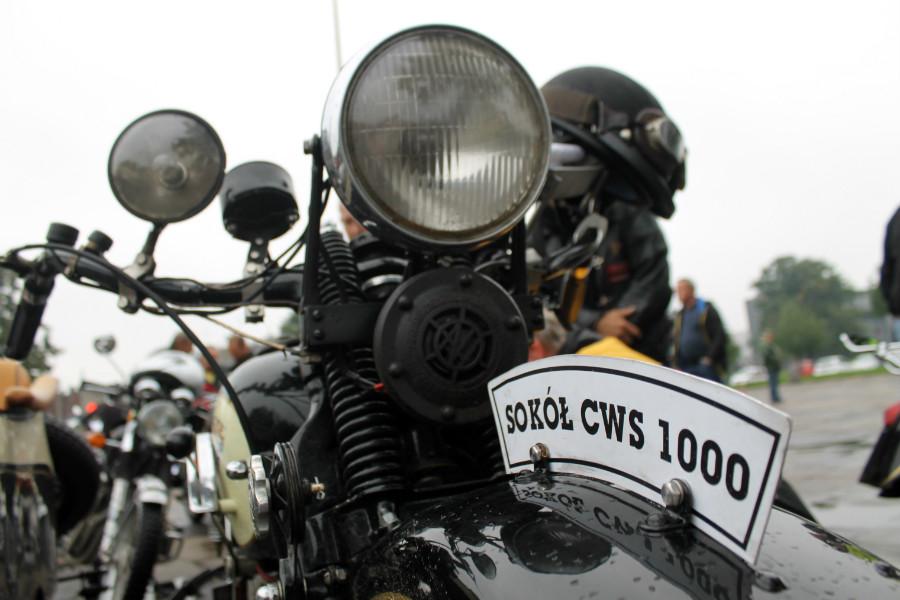 Zabytkowe motocykle w Pabianicach i Ksawerowie