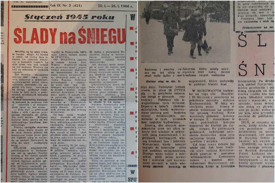Pabianice w 1945: Wszyscy czekali na żołnierzy w baranich czapach