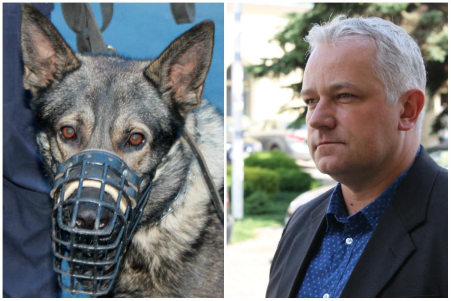 Radny wystarał się o psa na złoczyńców