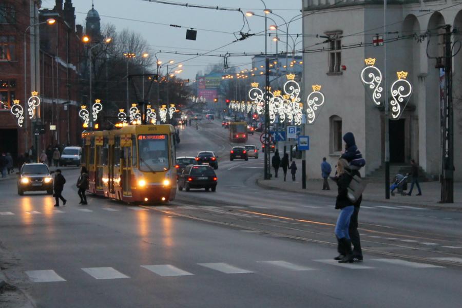 Tramwaj przestaje kursować do Lutomierska. A kiedy początek remontu ul. Zamkowej?