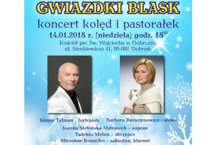 """Koncert """"Gwiazdki blask"""" w niedzielę"""