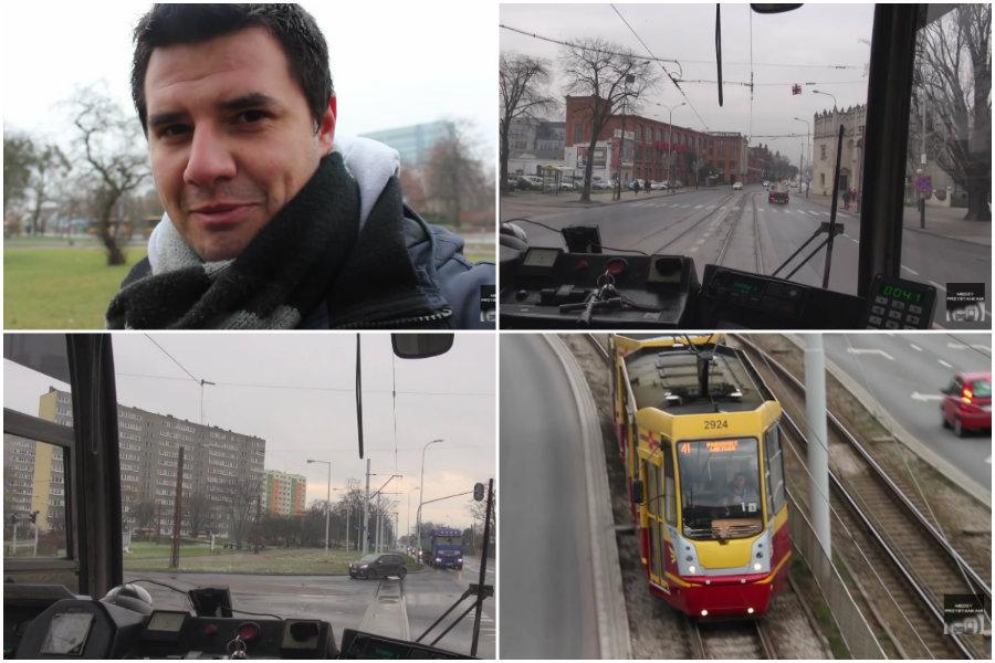 Pierwsza taka podróż linią 41 [VIDEO]