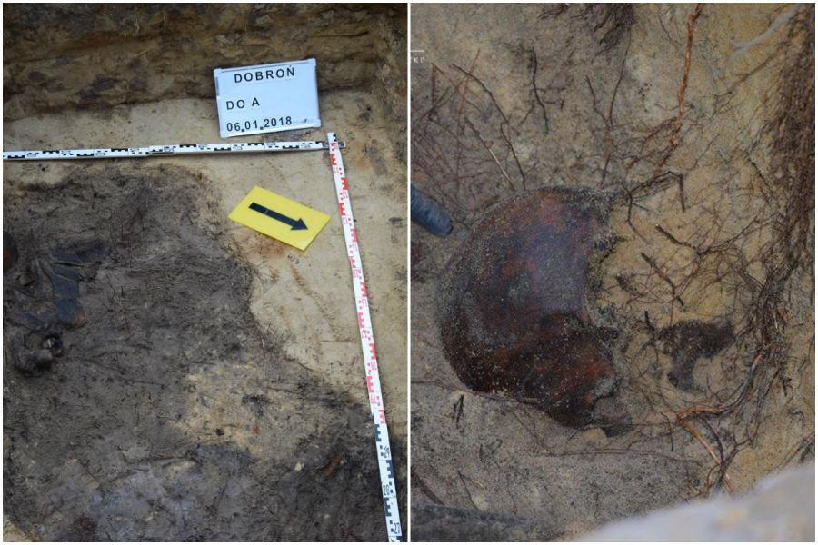 Wykopali kości pod Pabianicami. Prawdopodobnie ludzkie