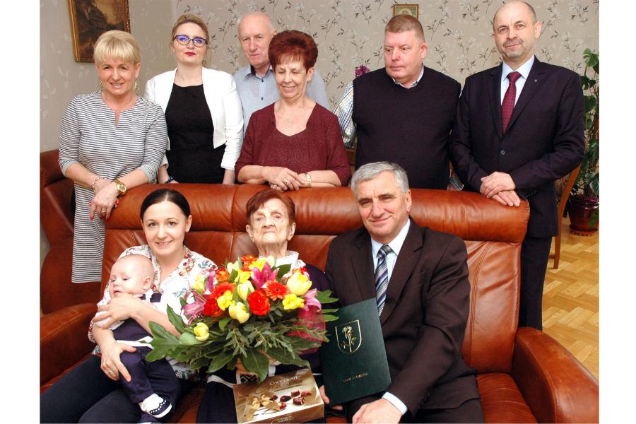 Pani Aniela skończyła 102 lata