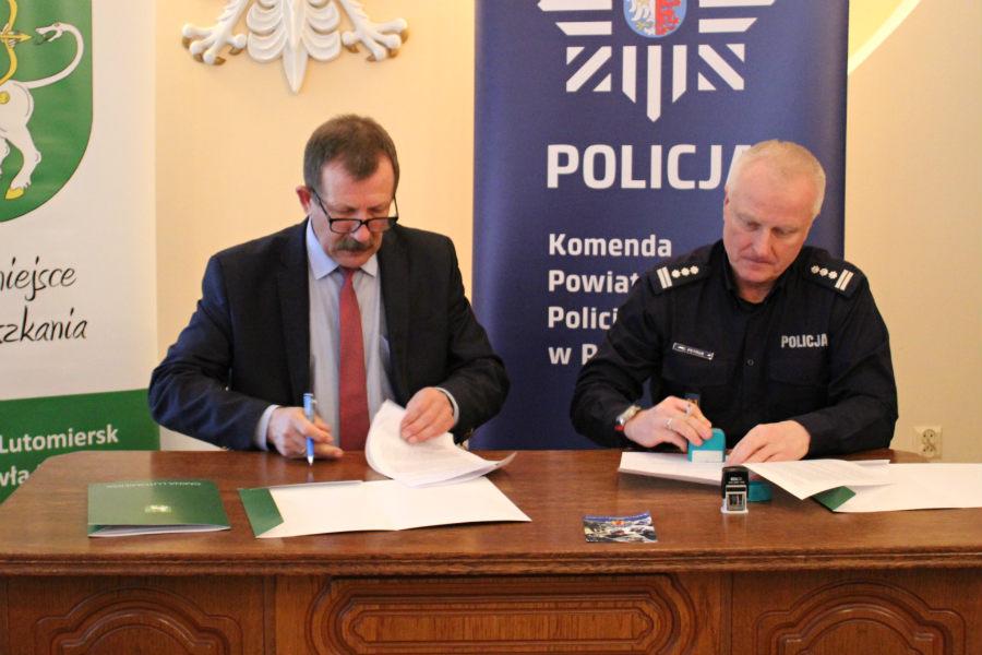 Więcej policji w Lutomiersku