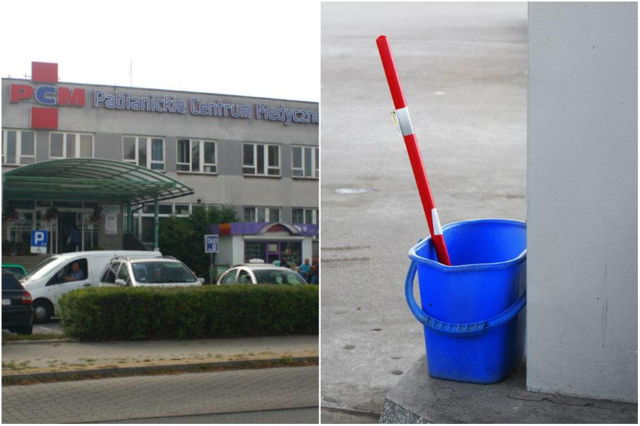 Przełożona do sprzątaczek w szpitalu: Ku*wa mać, opie***lacie się!