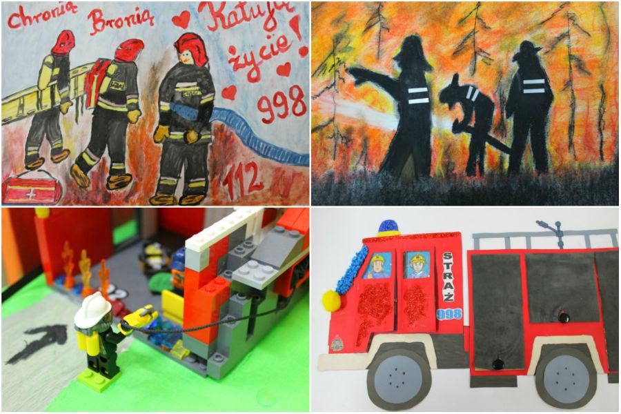 """""""Dzielnym być jak strażak i każdemu w potrzebie pomagać"""""""