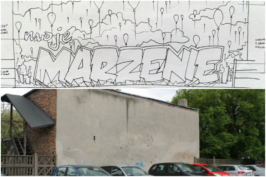 """Tu powstanie """"mural marzeń"""""""