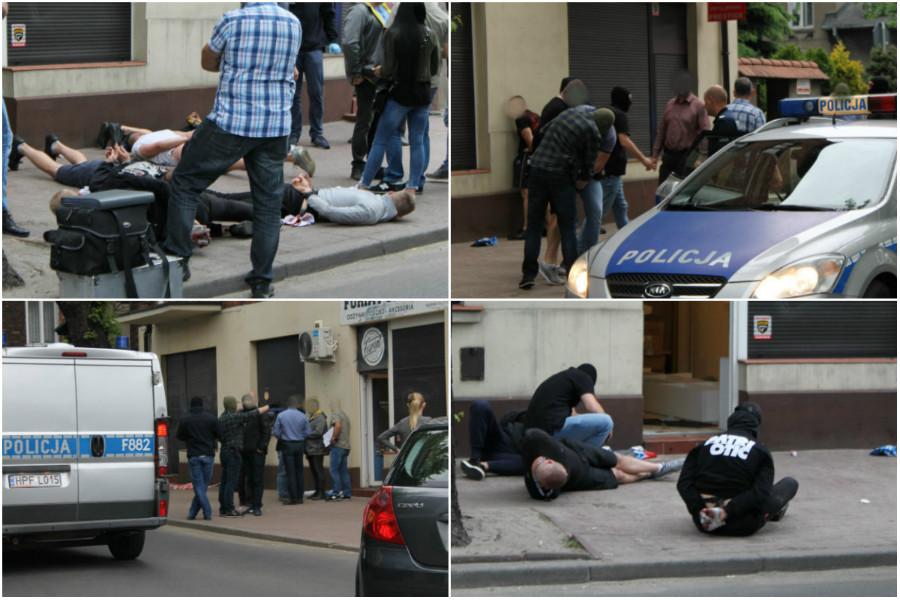 Pabianicka policja o wczorajszej akcji z kibolami