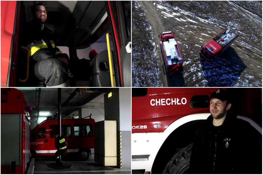 Marcin pokazał, że strażacka służba to powołanie [VIDEO]