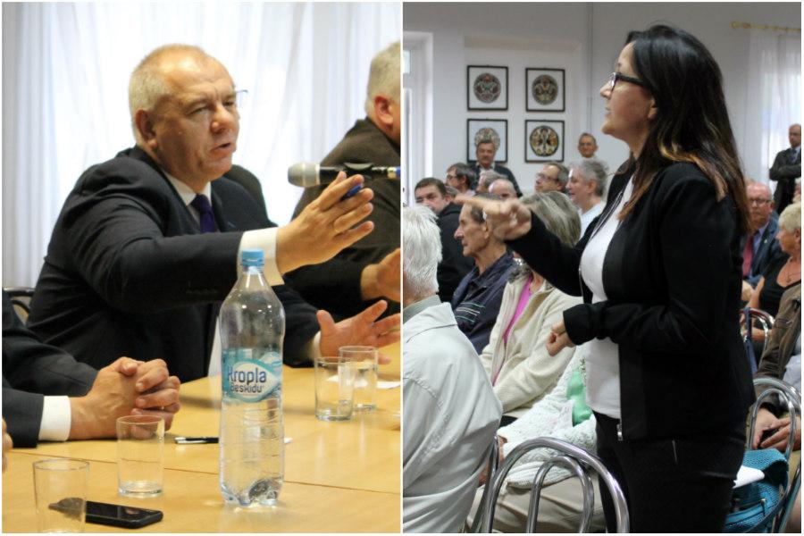 Minister Sasin w ogniu pytań mieszkańców. Jak sobie poradził? [VIDEO]