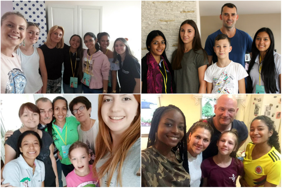 Stwórz międzynarodową rodzinę