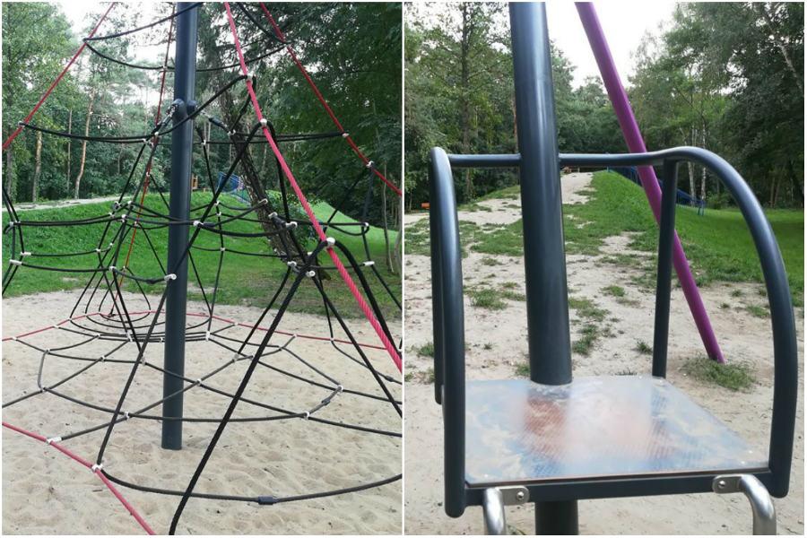 Będą nowe trampoliny i siłownia w parku