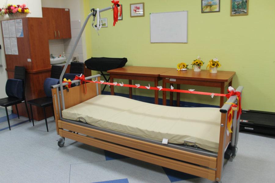 Kilkadziesiąt nowoczesnych łóżek dla szpitala