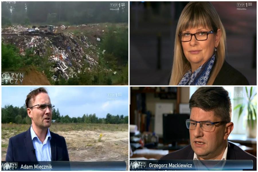 Magazyn Śledczy TVP1. Co mają niebezpieczne odpady do teściowej prezydenta Mackiewicza?