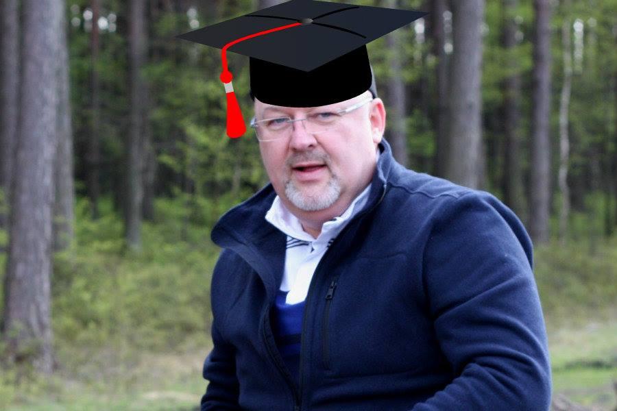 Co z maturą Krzysztofa Ciebiady? Na jakiej uczelni się kształci?