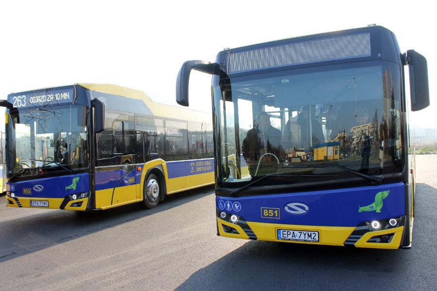 Hybrydowe autobusy zadebiutowały na trasie [VIDEO]