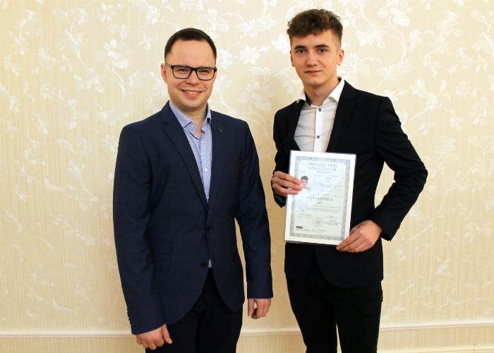 Najmłodszy mistrz w cechu - Emil Cieślak i jego uczeń Damian Supczyński