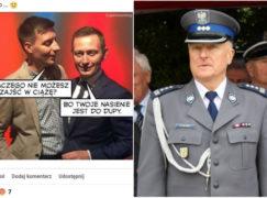 Komendant pabianickiej policji skarcił funkcjonariusza za naśmiewanie się z gejów. I przeprosił obrażonych