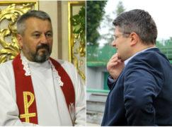 Ksiądz proboszcz podczas mszy skrytykował prezydenta Pabianic