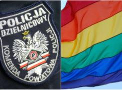 Policjant zadrwił z gejów, wszczęto procedurę wyjaśniającą