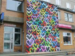 """Pabianice mają swoją """"ścianę miłości"""""""