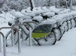 Czy rowerowi publicznemu nie zaszkodzi brak wiaty, deszcz i śnieg?