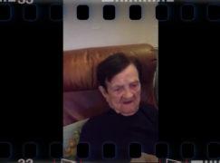 103-letnia pani Aniela dziękuje internautom za życzenia [VIDEO]