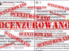 Tak cenzuruje Cessanis z Pabianic. Podwójne standardy dziennikarza