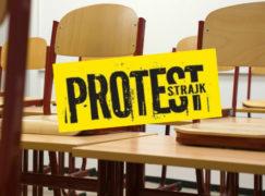 Rozpoczął się strajk nauczycieli [NA BIEŻĄCO]
