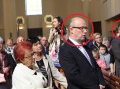To oni obezwładnili szaleńca w kościele