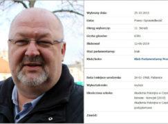 Dziś Krzysztof Ciebiada złożył ślubowanie poselskie. Uczynił to jako... licencjat Akademii Polonijnej [AKTUALIZACJA]