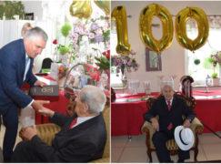 Pan Bolesław ma 100 lat. Nigdy nie opuszcza go dobry humor i pogoda ducha