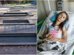 Po wypadku na trampolinie zostaną zamontowane dodatkowe ostrzeżenia
