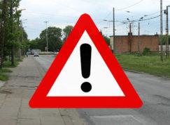 Przebudowa Warszawskiej: Tędy nie przejedziesz i nie przejdziesz!