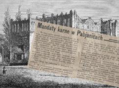 Przedwojenne Pabianice: Wprowadzenie mandatów karnych