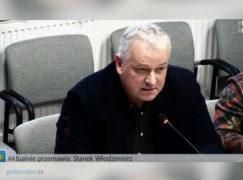 Szef opozycji o rozmowach z biznesmenami na temat przeniesienia ich firm poza Pabianice