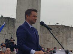 Trzaskowski wygrał w Pabianicach