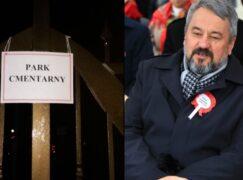 Ksiądz Bracha nie zostanie ukarany przez sanepid za Park Cmentarny
