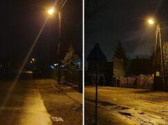 Nowe latarnie na kilku ulicach Zatorza już działają