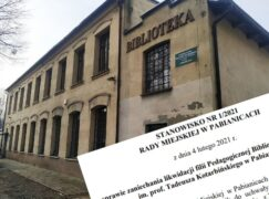 Apel o zaniechanie planu zniszczenia biblioteki [AKTUALIZACJA]