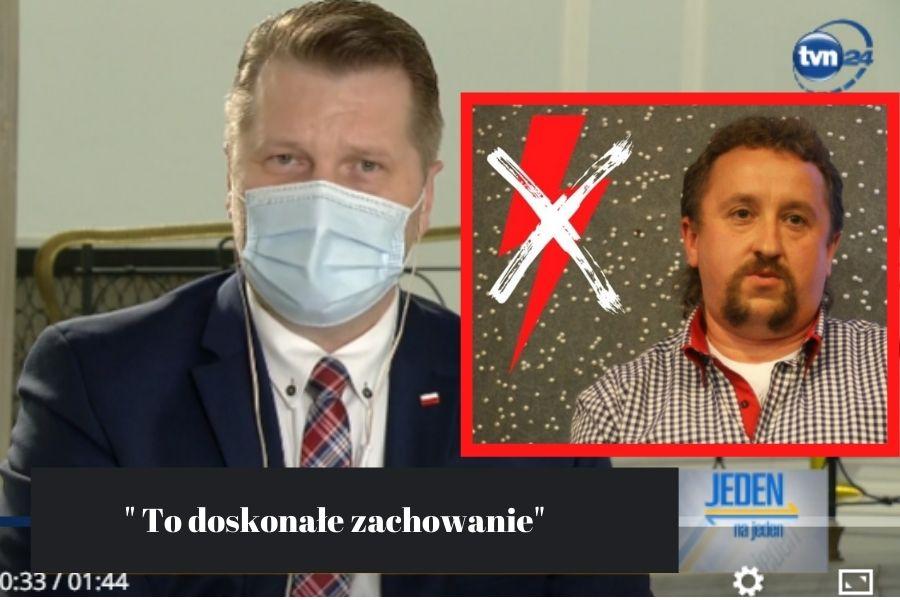 Dariusz Jakóbek_ Przemysław Czarnek